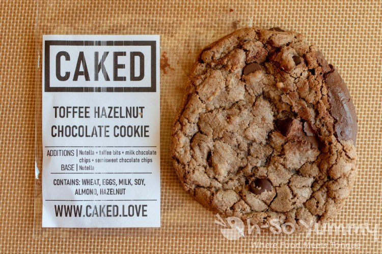CAKED Toffee Hazelnut Chocolate Cookie