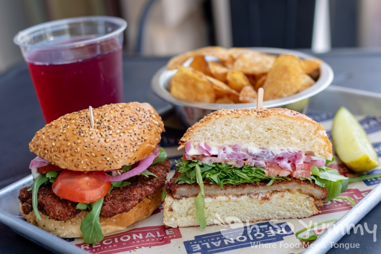 sandwich combo at RegionAle in Columbia Maryland