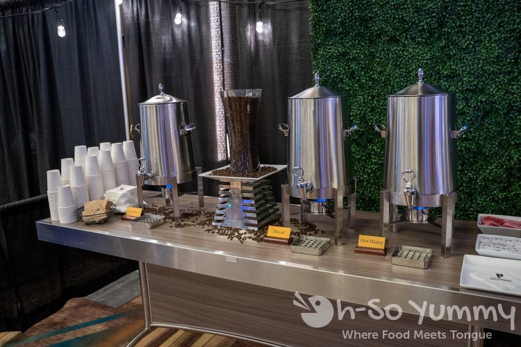 Coffee bar at Chocolate Decadence in Pechanga Resort and Casino