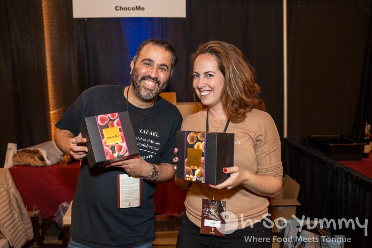 ChocoMe craft chocolate at Chocolate Decadence in Pechanga Resort and Casino