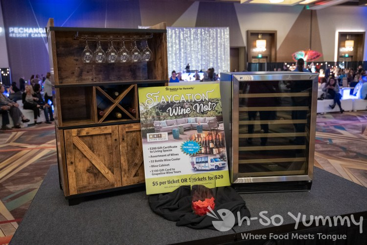 wine bar and adventure raffle at Chocolate Decadence in Pechanga Resort and Casino