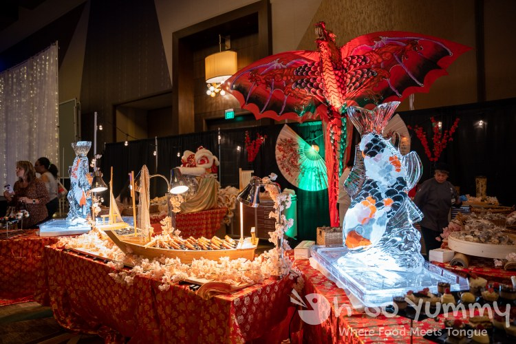 food vendors at Chocolate Decadence in Pechanga Resort and Casino