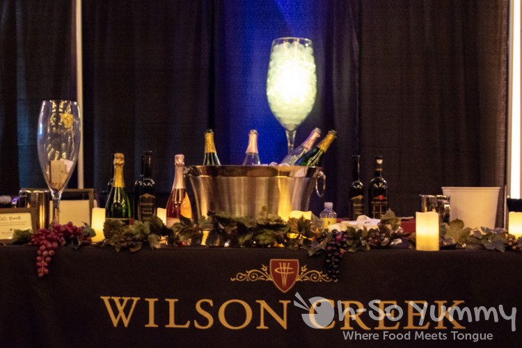 Wilson Creek wine at Chocolate Decadence in Pechanga Resort and Casino