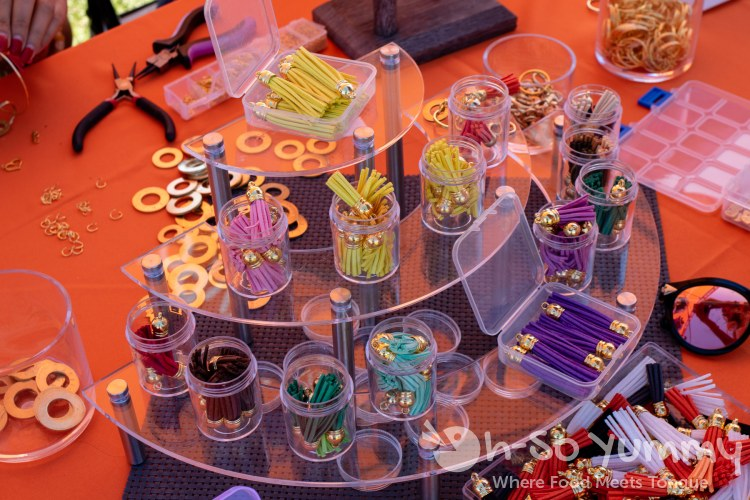 Make your own bracelet at San Diego Reader first annual Brunch and Booze