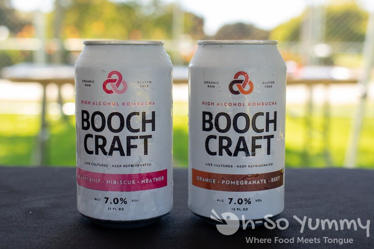 Boochcraft Hard Kombucha at San Diego Reader Brunch and Booze