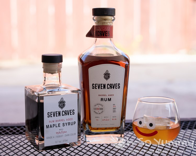 Seven Caves Spirits Barrel Rum and Maple Syrup