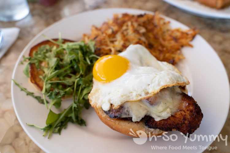 Maple Fried Chicken Breakfast Sandwich at Shorehouse Kitchen in La Jolla