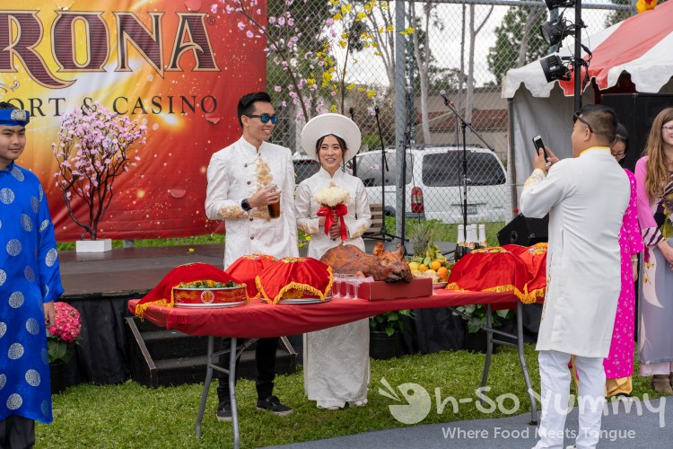 Wedding at Tet Festival Mira Mesa