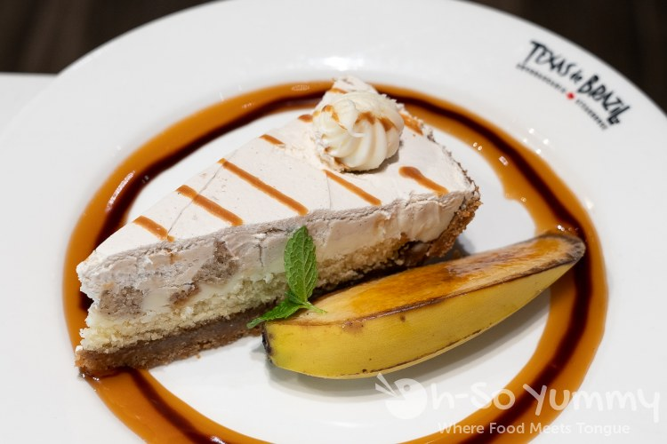 Banana Cake at Texas de Brazil Churrascaria Steakhouse in Carlsbad