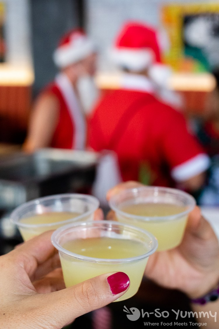 christmas cheers at toast of gaslamp 2019