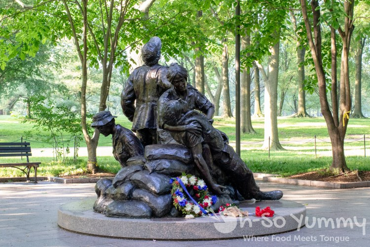 Vietnam Women's Memorial in Washington DC