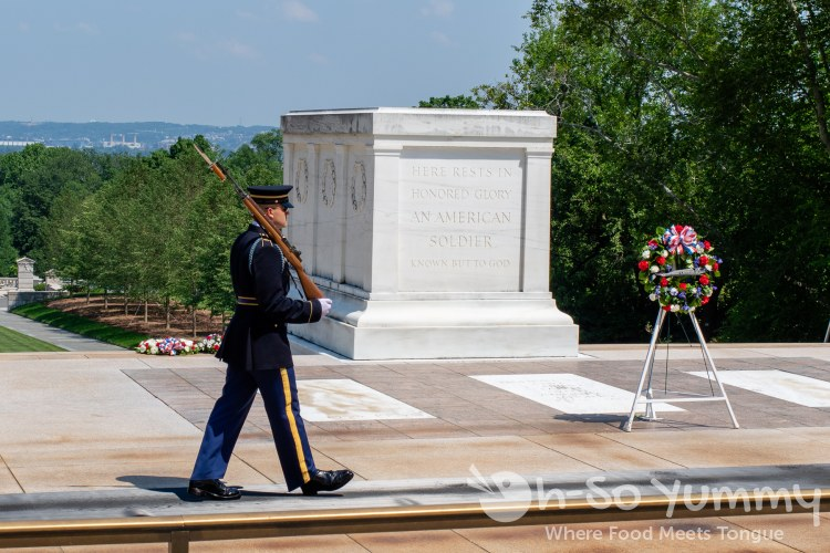 Tomb of the Unknown Solder at Arlington National Cemetery