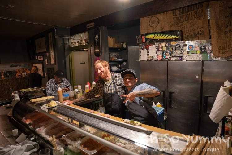 Sushi Chefs at Wrench and Rodent in Oceanside