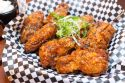 Soy Garlic Wings at Cross Street Chicken and Beer on Convoy Street in San Diego