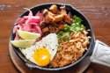 Chorizo Kimchi Fried Rice Skillet at Urban Seoul 2.0