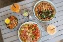 Wholesome food at Powerhaus Wholesome Pizza and Eats in Pacific Becah San Diego